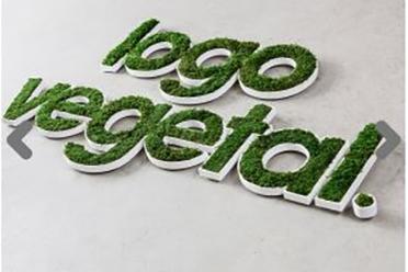 NOUVEAUTE : Votre Logo en Végétal